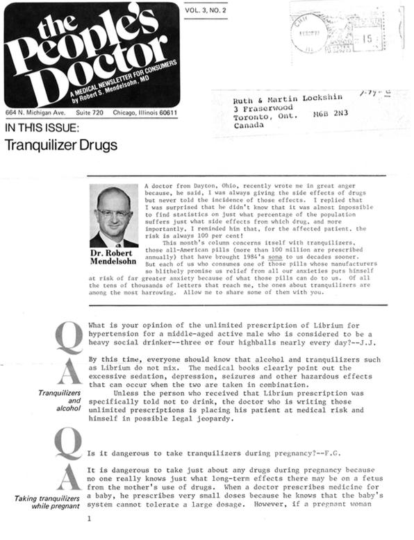 Tranquilizer Drugs