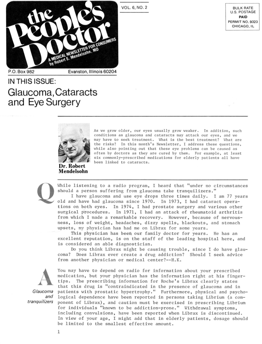 Glaucoma, Cataracts and Eye Surgery