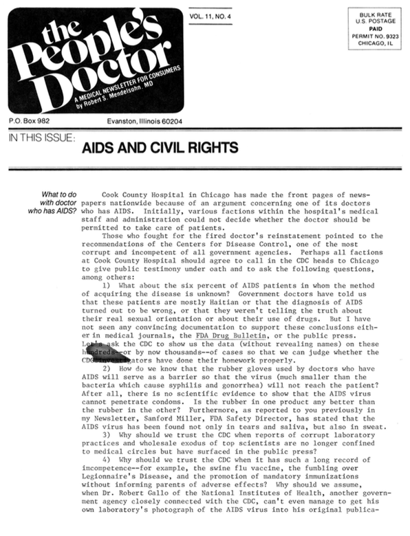 Aids and Civil Rights